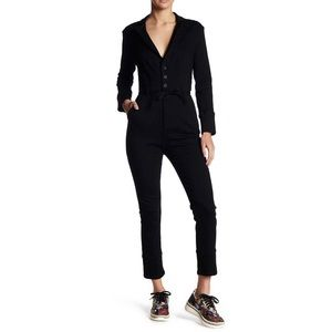NWT Free People Take Me Out Long Sleeve Jumpsuit
